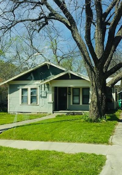 Denton Single Family Home For Sale: 914 Haynes Street