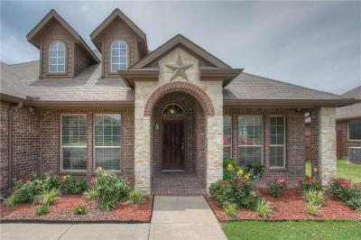 Weatherford Single Family Home For Sale: 2216 Caroline Drive