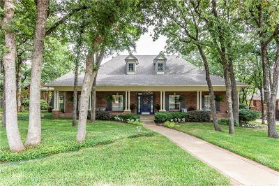 Keller Single Family Home Active Option Contract: 923 Williamsburg Lane