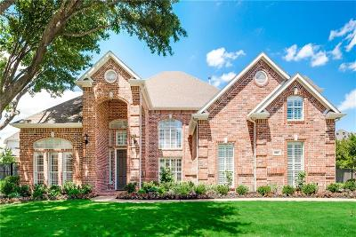 Southlake Single Family Home Active Option Contract: 606 Rustic Ridge Court