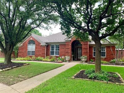 Coppell Single Family Home Active Option Contract: 154 Windham Circle