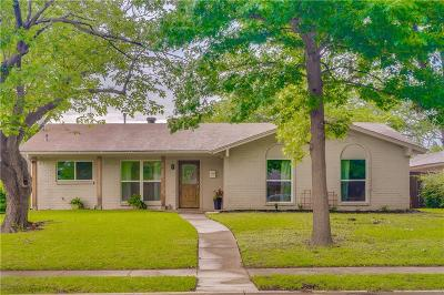Garland Single Family Home Active Option Contract: 1025 Birchwood Drive