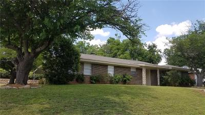 Weatherford Single Family Home Active Option Contract: 1112 Julie Street