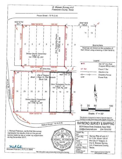 Teague Residential Lots & Land For Sale: Tbd Walnut