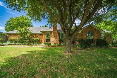 Waxahachie Single Family Home Active Option Contract: 1200 N Sharpshire Drive