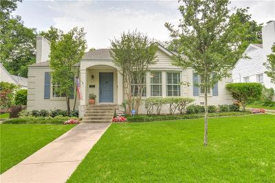Tarrant County Single Family Home For Sale: 3805 Lenox Drive