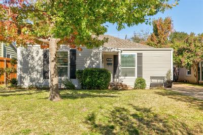 Arlington Heights Single Family Home For Sale: 4508 Calmont Avenue