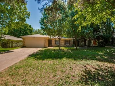 Irving Single Family Home For Sale: 1308 Fulton Drive
