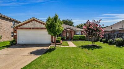 Forney Single Family Home Active Option Contract: 123 Stanford