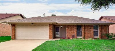 Grand Prairie Single Family Home Active Option Contract: 1617 N Bent Tree Trail