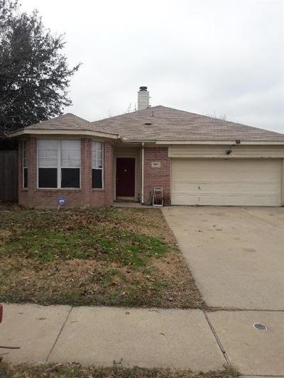 Denton Single Family Home For Sale: 3924 Parkhaven Drive