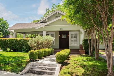 Single Family Home For Sale: 223 S Rosemont Avenue