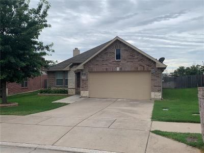 Fort Worth Single Family Home Active Option Contract: 10036 Longranger Drive