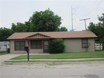 Mineral Wells Single Family Home Active Option Contract: 1409 SE 15th Street