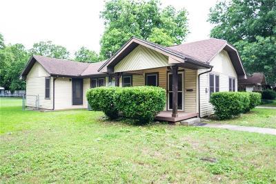 Denton Single Family Home For Sale: 317 Egan Street