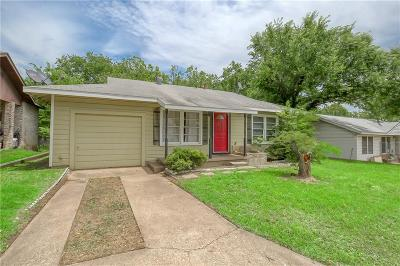Weatherford Single Family Home Active Contingent: 1210 Grace Street