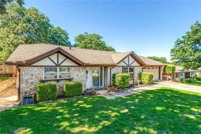 Bedford Single Family Home Active Option Contract: 804 Spring Lake Drive