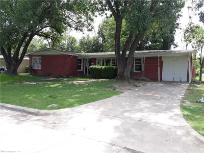 Richland Hills Single Family Home For Sale: 2829 Cecil Drive