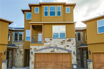 Grand Prairie Townhouse For Sale: 7310 Venice Drive #3