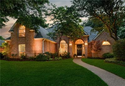 Colleyville Single Family Home Active Option Contract: 5500 Sycamore Drive