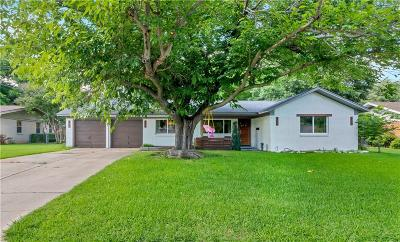 Fort Worth Single Family Home Active Option Contract: 7004 Valhalla Road