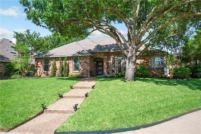 Allen Single Family Home Active Option Contract: 1005 Meadow Creek Drive