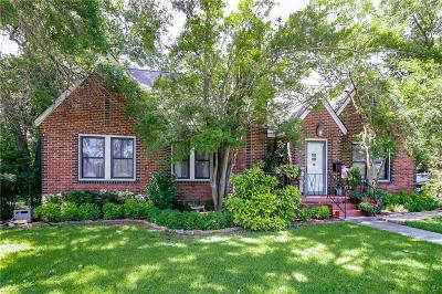 Weatherford Single Family Home For Sale: 605 W Josephine Street