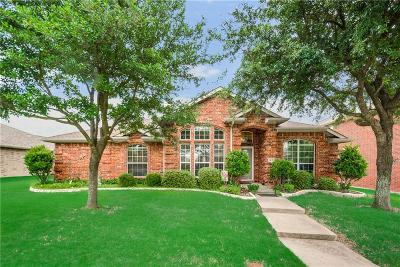 Rockwall Single Family Home Active Option Contract: 1217 Blue Brook Drive