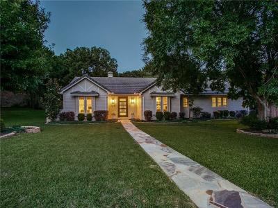 Southlake Single Family Home Active Option Contract: 1219 Ridgewood Circle