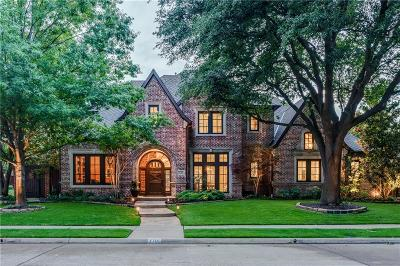Plano Single Family Home Active Option Contract: 2701 Redding Drive