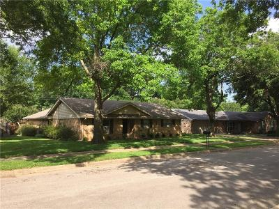 Ennis Single Family Home Active Option Contract: 1206 Red Oak Street
