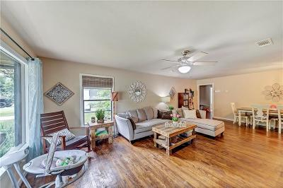 Richland Hills Single Family Home Active Option Contract: 2649 Scruggs Park Drive