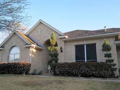 Fort Worth Single Family Home Active Option Contract: 3709 Stone Creek Parkway