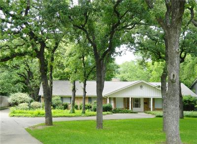 Tarrant County Single Family Home Active Option Contract: 7213 Meadowbrook Drive