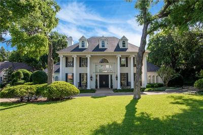 Overton Park Add, Overton Woods Add, Tanglewood Single Family Home For Sale: 3509 Overton View Court