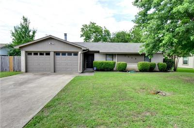 Benbrook Single Family Home Active Option Contract: 1112 Trammell Drive