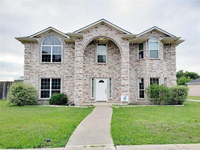 Wylie Single Family Home For Sale: 1101 Hall Drive