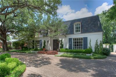 Fort Worth Single Family Home For Sale: 3828 Monticello Drive