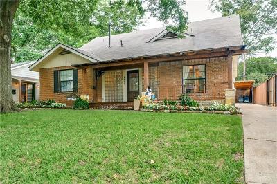 Single Family Home For Sale: 9427 Hobart Street