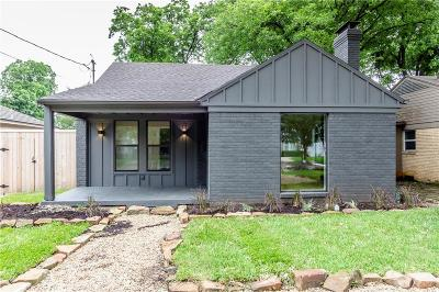 Single Family Home For Sale: 5207 Denton Drive