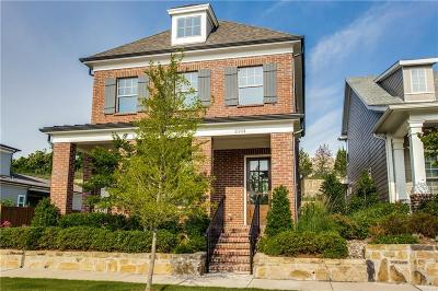 McKinney Single Family Home For Sale: 2201 Tremont Boulevard