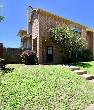 Lewisville Single Family Home Active Option Contract: 1514 Barbara Drive