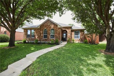Allen Single Family Home For Sale: 1556 Charleston Drive