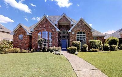 Plano Single Family Home Active Contingent: 3400 Dartmouth Drive