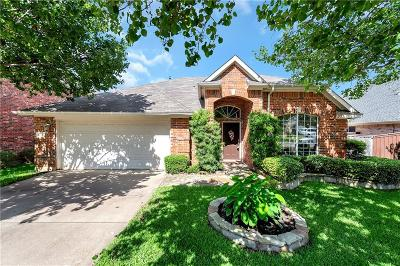 Corinth TX Single Family Home Active Option Contract: $295,000