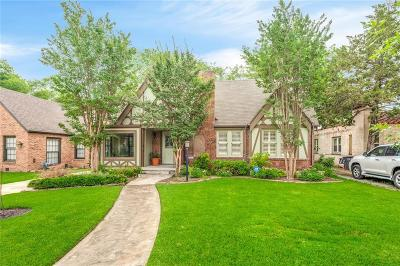 Fort Worth Single Family Home For Sale: 3313 Park Ridge Boulevard