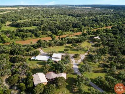 Brown County Farm & Ranch Active Option Contract: 18965 County Road 218