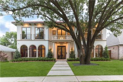 Preston Hollow, Preston Hollow Rev Single Family Home For Sale: 6832 Chevy Chase Avenue