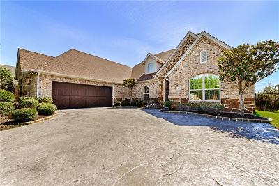 Lewisville Single Family Home Active Option Contract: 809 Sword Bridge Drive