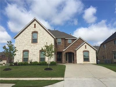 Sachse Single Family Home Active Contingent: 6901 Samarth Lane